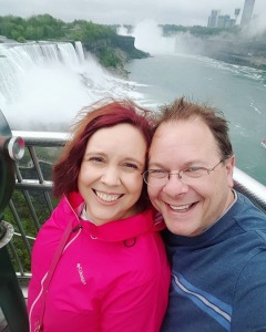 Me and my boyfriend at Niagara falls