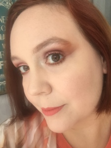 Sunset look using Jaclyn Hill Morphe palette tutorial