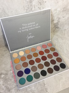 Jaclyn Hill Morphe palette honest fan review and swatches JaclynHillxMorphe Palette